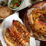 Clarke's Food Sriracha Cheese Fries Hot Dog Burger Beer Food Cape Town Bree Street