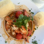 Dunes restaurant Food Prawns Hout Bay Cape Town Family Food