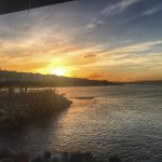 Mossel Bay, Mossel Bay Harbour, Kaai 4, Mossel Bay Oyster Bar, Sunset, South Africa, Holiday